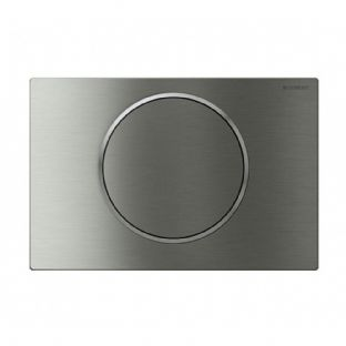 Geberit Sigma10 Stainless Steel (Screwable) Single Flush Plate - 115.787.SN.5